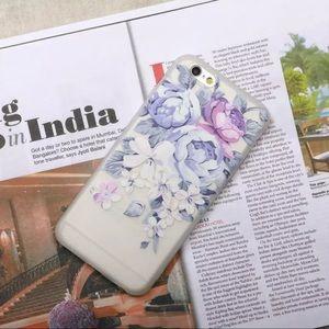 iPhone 7/8/Plus/X/XS Purple Rose Case